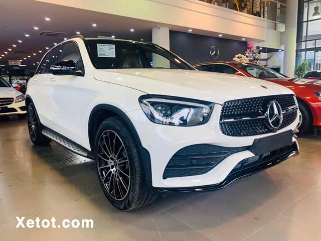 xe mau trang mercedes glc 300 2020 cbu xetot com - Đánh giá Mercedes GLC 300 2021: Đại diện tiêu biểu phân khúc SUV hạng sang